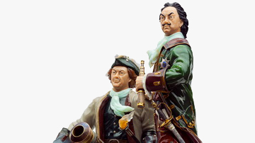 Peter the Great and Alexander Menshikov
